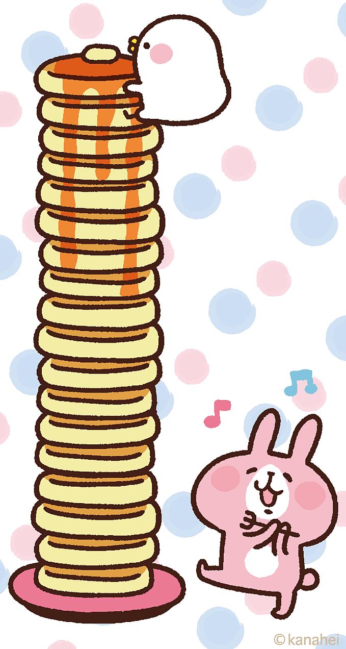 カナヘイとパンケーキ