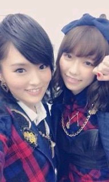 AKB48 島崎遥香 NMB48 山本彩の画像(プリ画像)