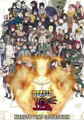NARUTO 10周年の画像(プリ画像)