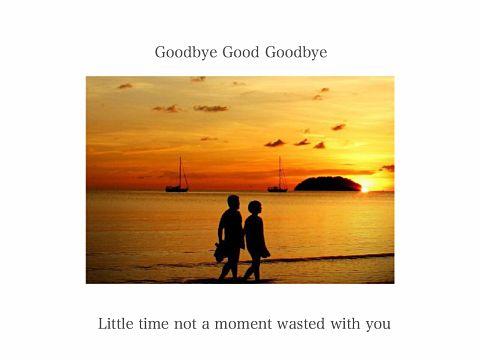 Good Goodbyeの画像(プリ画像)