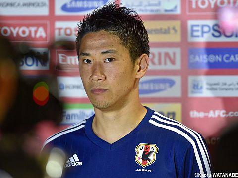 超短髪時代の香川選手。