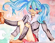 水彩 ローリンガールの画像(プリ画像)
