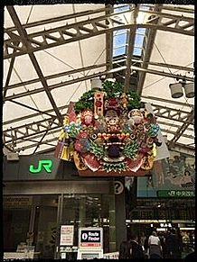 上野駅 正月飾りの画像(上野に関連した画像)