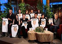 Ellen Degeneres twilight castの画像(twilightに関連した画像)