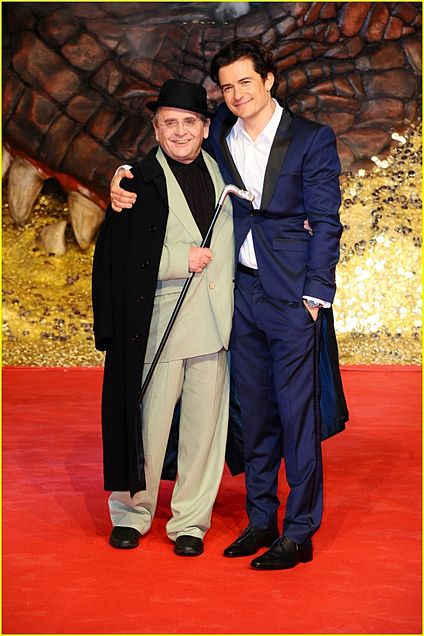 the Hobbit Orlando Bloom Sylvester McCoyの画像 プリ画像
