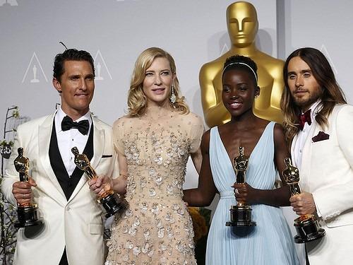 Matthew McConaughey Cate Blanchett Lupita Nyong'o Jared Letoの画像