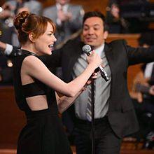 Jimmy Fallon Emma Stoneの画像(Jimmyに関連した画像)
