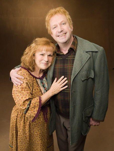 ロンの両親アーサーとモリー