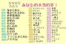 日付 誕生 占い 日 誕生日でわかる【メンタル強い】ランキング 26日生まれは強靱な鋼のメンタル!