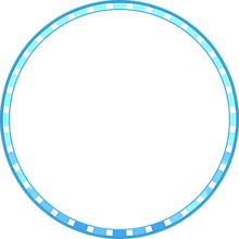 スクフェスUR風アイコンフレーム(クール)の画像(水色に関連した画像)