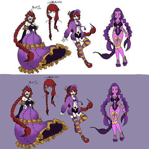 キャラクター仮案の画像(プリ画像)