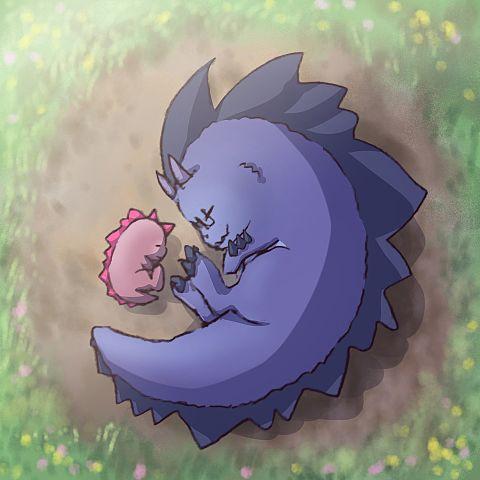 ザウルス睡眠の画像(プリ画像)