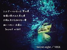 secret night プリ画像