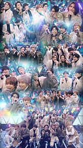 FNS歌謡祭 亀梨和也&キスマイ&セクゾ&WEST プリ画像