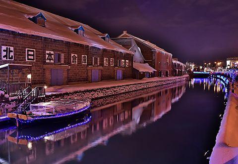小樽運河の画像 プリ画像