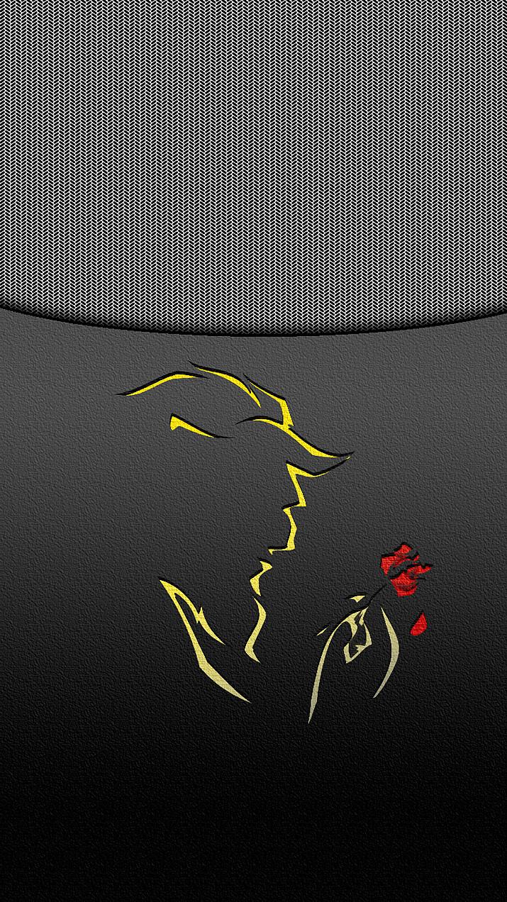 美女と野獣 ロゴなし Iphone ロック画面 71626280 完全無料画像検索