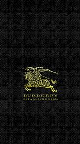iPhone ロック画面 バーバーリー burberry プリ画像