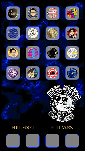 iphone壁紙 FULL MOON