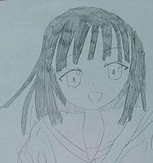 千石撫子 イラストの画像(プリ画像)