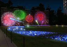 """連日開催!東京ミッドタウン""""光の花火""""がロマンティックすぎるの画像(東京ミッドタウンに関連した画像)"""
