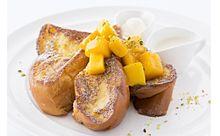 マンゴー×フレンチトースト!朝食の女王「サラベス」がフルーティーな新メニューを販売の画像(サラベスに関連した画像)