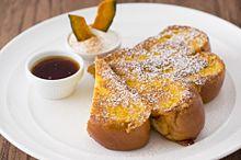 """NYの朝食の女王""サラベスがハロウィン限定の「パンプキン・フレンチトースト」を発売の画像(サラベスに関連した画像)"