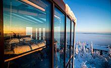 ベッドでオーロラ鑑賞!北欧の絶景リゾートが美しすぎるの画像(北欧に関連した画像)