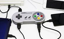 """レトロでかわいい!""""スーパーファミコン""""コントローラーそっくりのUSBバッテリーの画像(USBに関連した画像)"""