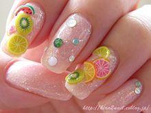 ジューシー&スイートな【フルーツモチーフ】で初夏のネイルはキマり!!の画像(フルーツモチーフに関連した画像)
