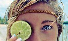 フルーツモチーフ流行中?夏ネイルはレモン柄に挑戦!の画像(フルーツモチーフに関連した画像)