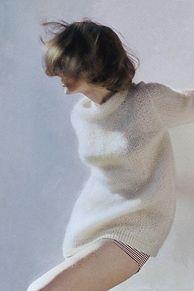 秋冬だってもちろん鉄板。ホワイトネイルデザインの画像(ホワイトネイルに関連した画像)