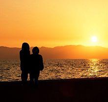 夕日の画像(日エ連に関連した画像)