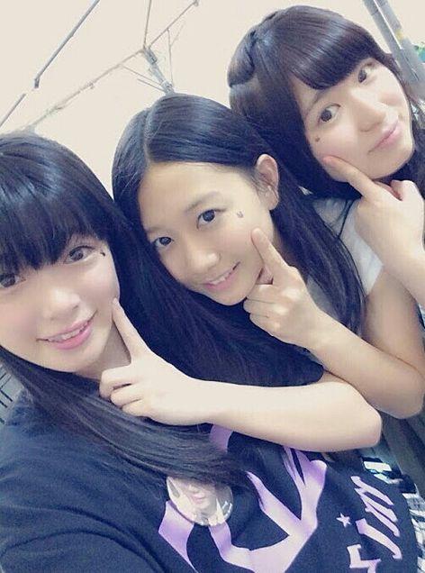 山田みずほ&古畑奈和&岩永亞美SKE48の画像 プリ画像