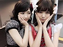 渡辺麻友まゆゆAKB48&西野七瀬なぁちゃん乃木坂46の画像(プリ画像)