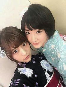 若月佑美若さま&生駒里奈乃木坂46の画像(プリ画像)