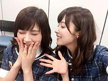 若月佑美若さま&衛藤美彩みさみさ乃木坂46の画像(プリ画像)