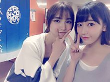 篠田麻里子まりこさま&宮脇咲良さくらたんHKT48の画像(プリ画像)
