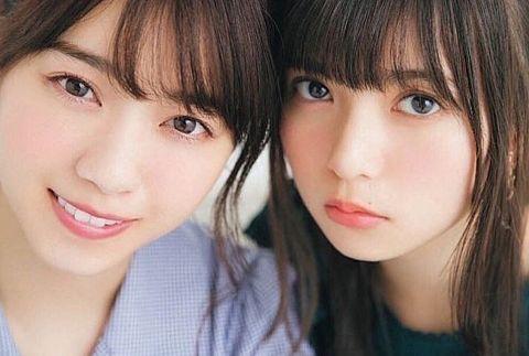 西野七瀬なぁちゃん&齋藤飛鳥あしゅ乃木坂46の画像 プリ画像