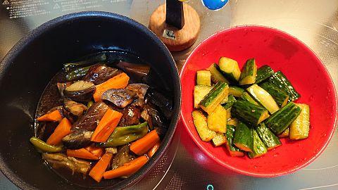 夏野菜料理の画像(プリ画像)
