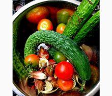 今日の収穫の画像(家庭に関連した画像)