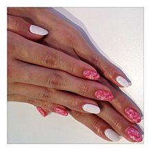 2012/5 ピンク系ネイルの画像(りなぽよに関連した画像)