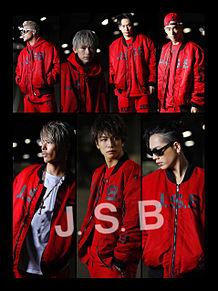三代目 J Soul Brothers 赤コーデ