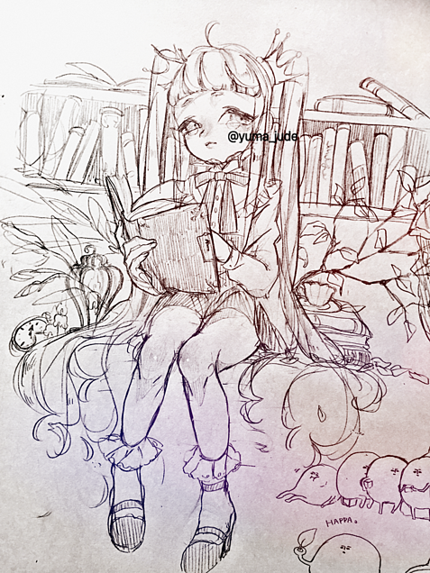 本好きな姫さんの画像(プリ画像)