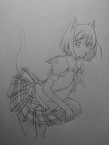 変猫。 プリ画像