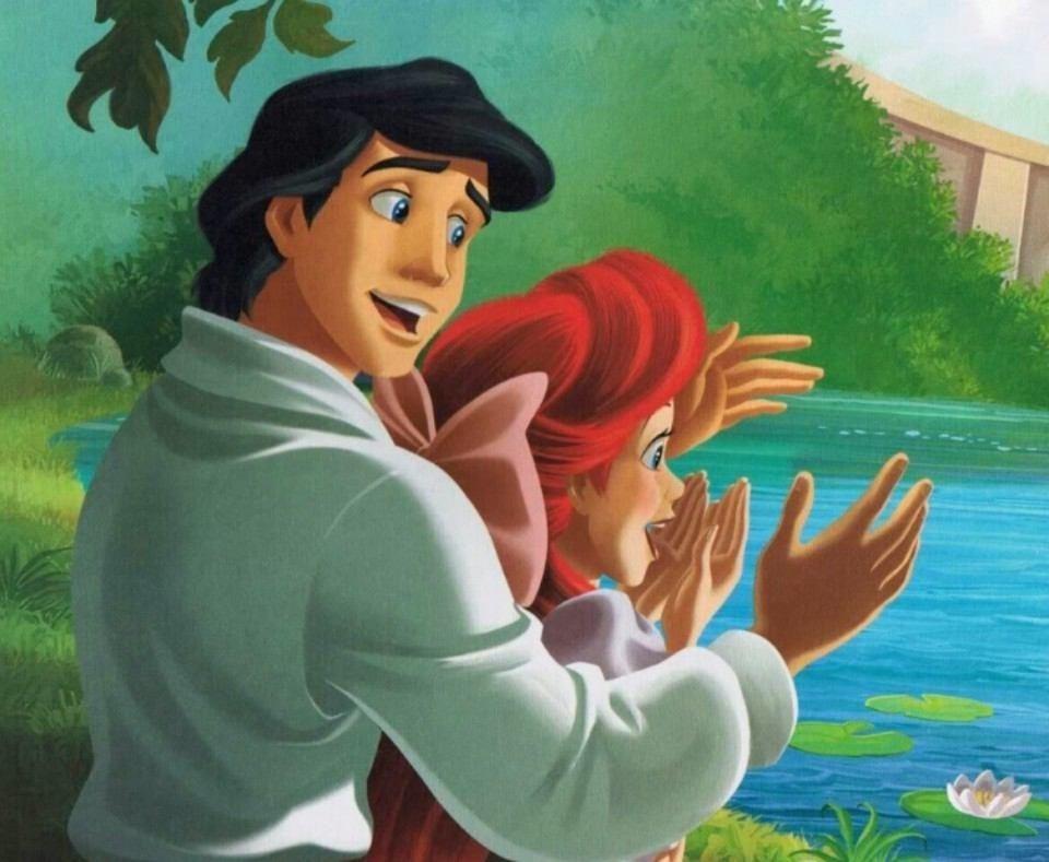 王子とアリエル