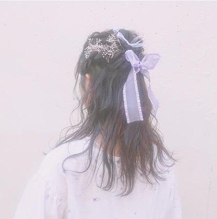 韓国 女の子 後ろ姿の画像 プリ画像