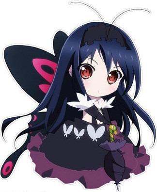 可愛らしいミニ黒雪姫。