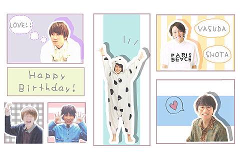 ヤスくんHappy Birthday!!!の画像(プリ画像)