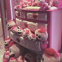 ユニバーサル モッピー ピンク かわいいの画像(モッピーに関連した画像)