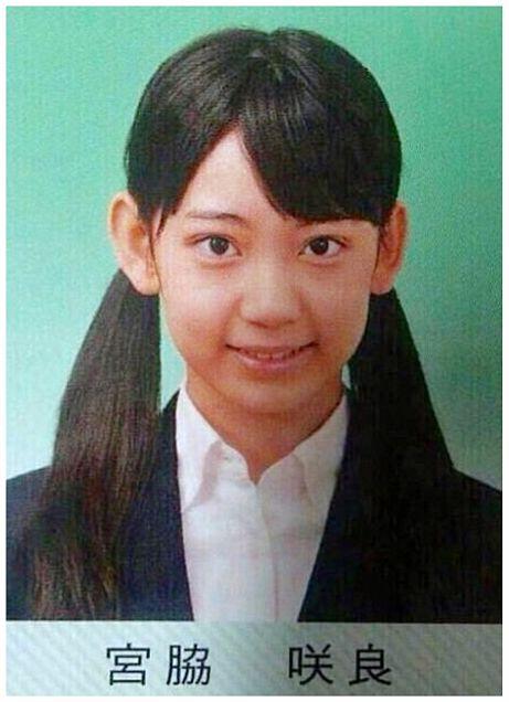 宮脇咲良 HKT48 中学校 卒アルの画像 プリ画像